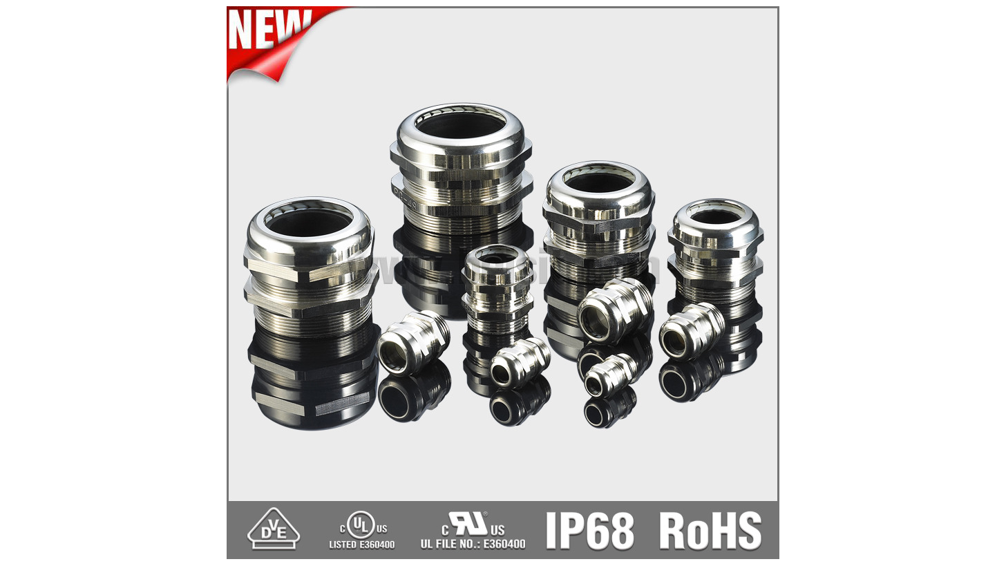 Logo IP68 Metal Cable Gland