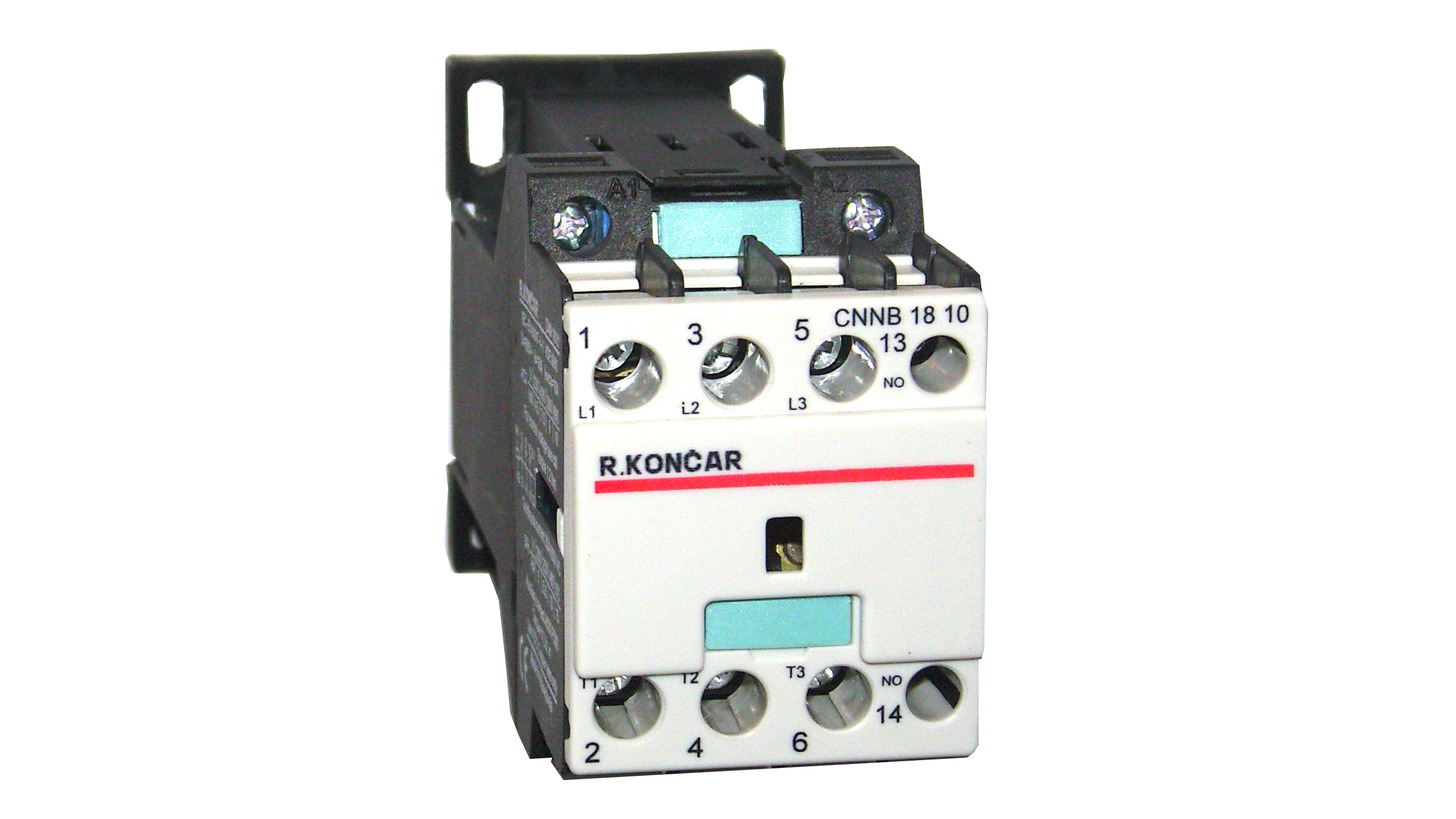 Logo Motor Contactors with DC Control System