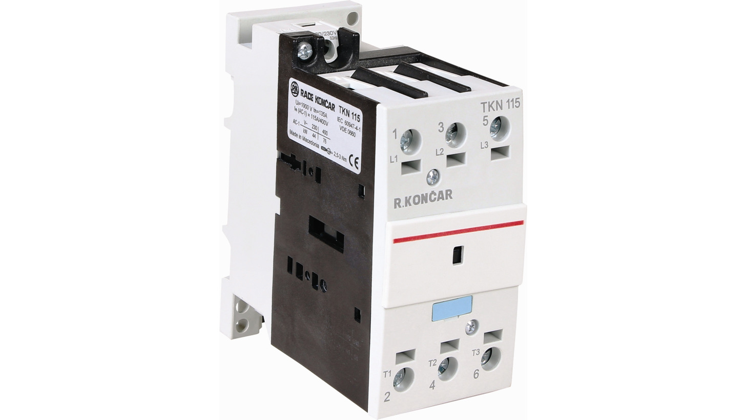 Logo Thermal Contactors (AC1)  type TKN/TK