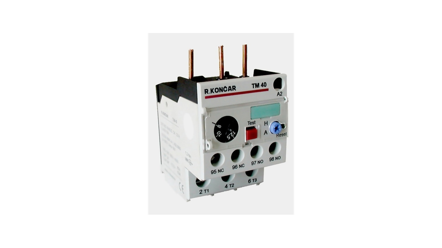 Thermal Overload Relays Type Tm And Trm Product Hannover Messe 2018 Relay Used In Circuit Breaker Logo