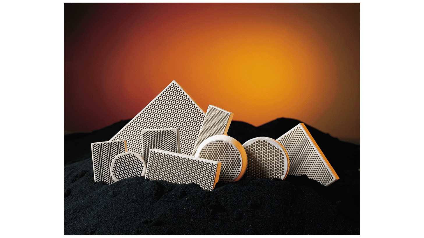 Logo Flow-Rite(TM) Alumina Silicate Ceramic Molten Metal Filters