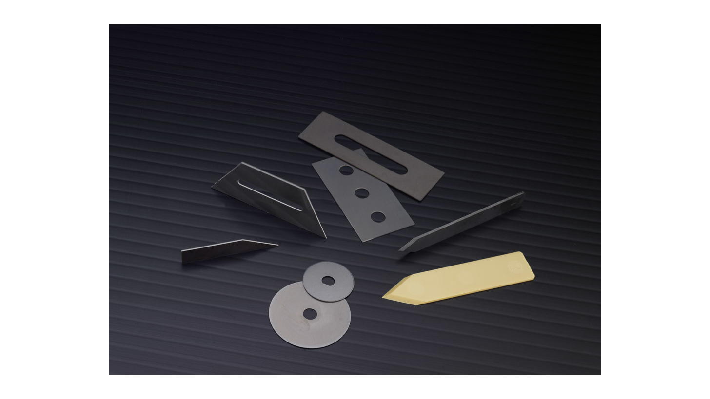 Logo Ceramic Blades and Cutting Components