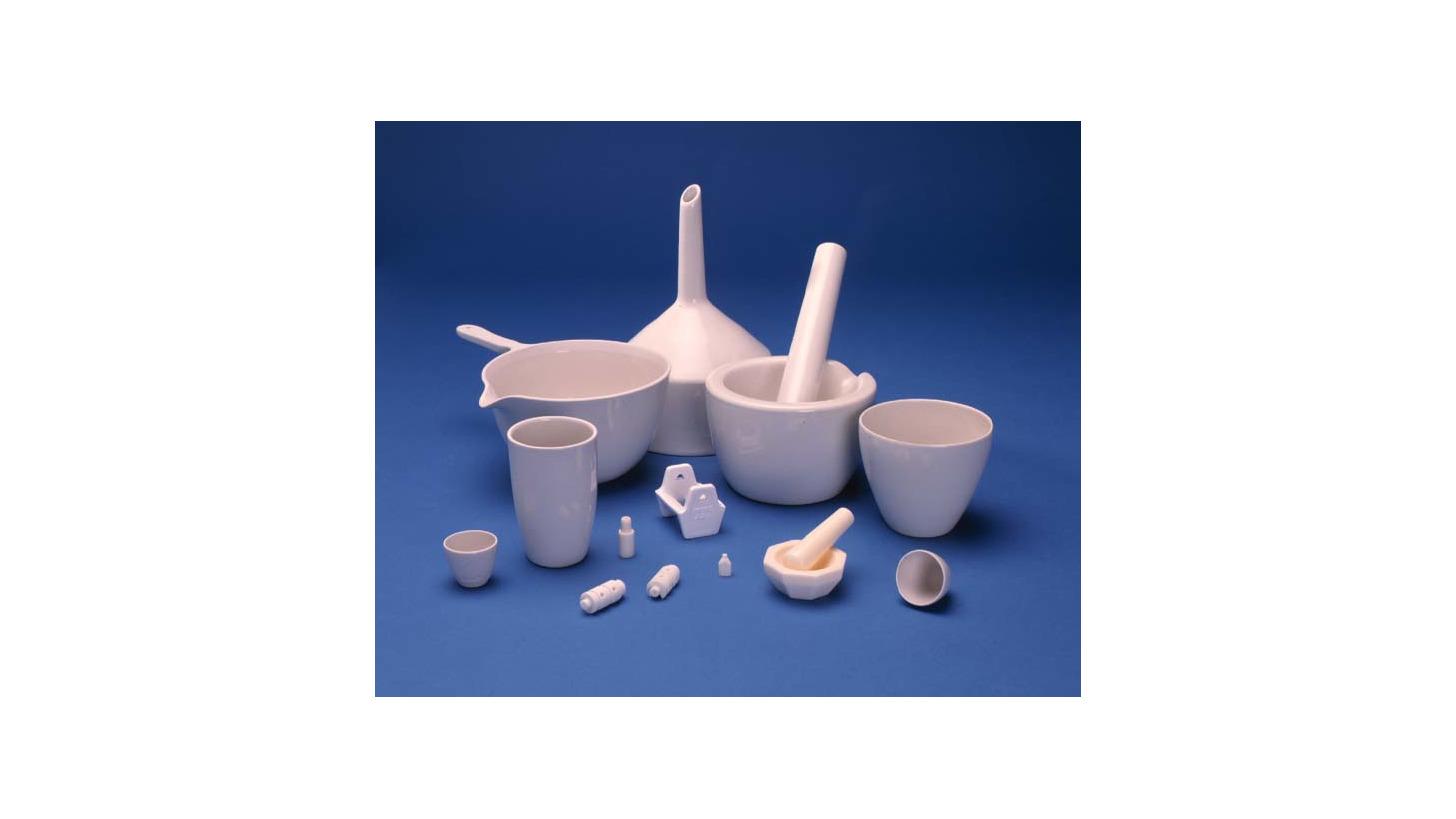 Logo Ceramic and Porcelain Scientific Labware