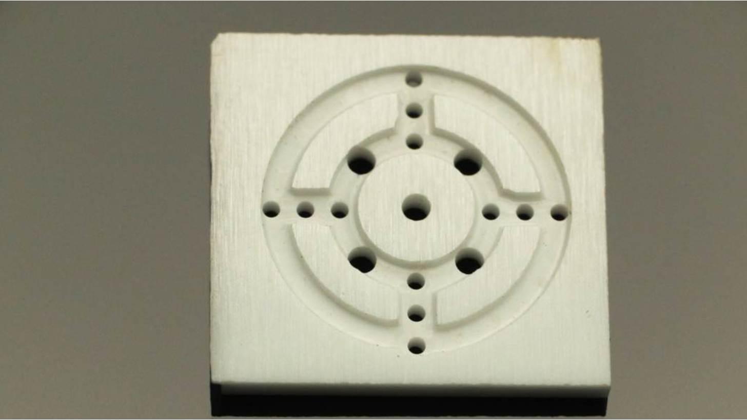 Logo micro holes