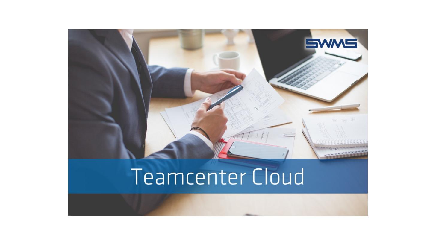 Logo Siemens Teamcenter in the Cloud