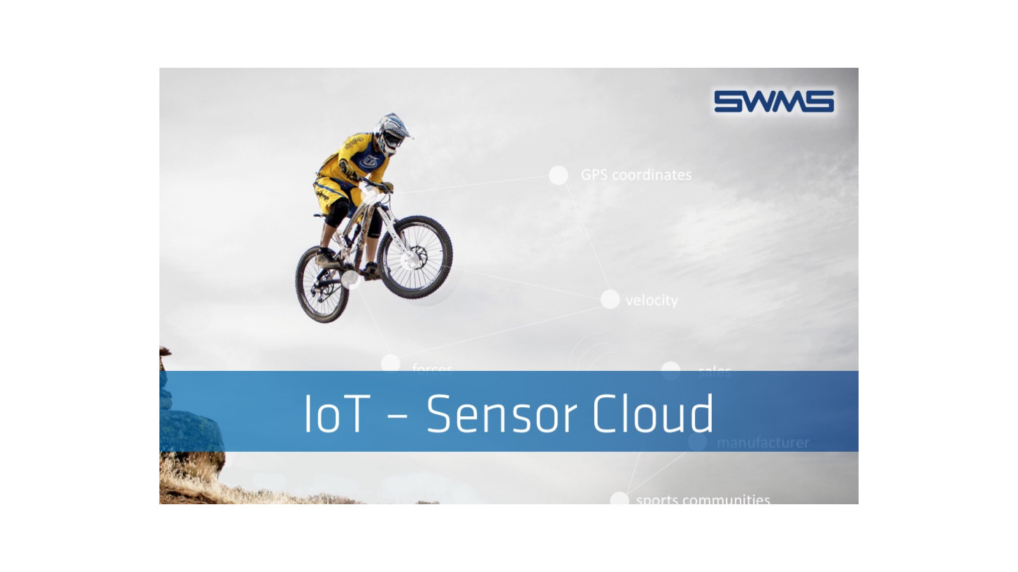 Logo IoT - From Sensor to the Cloud with SWMS