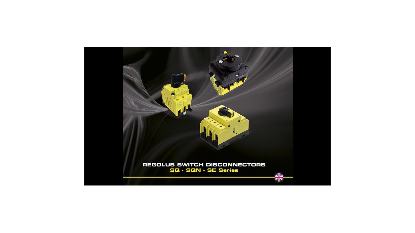 Logo Regolus Switch Disconnectors - SQ.SQN.SE