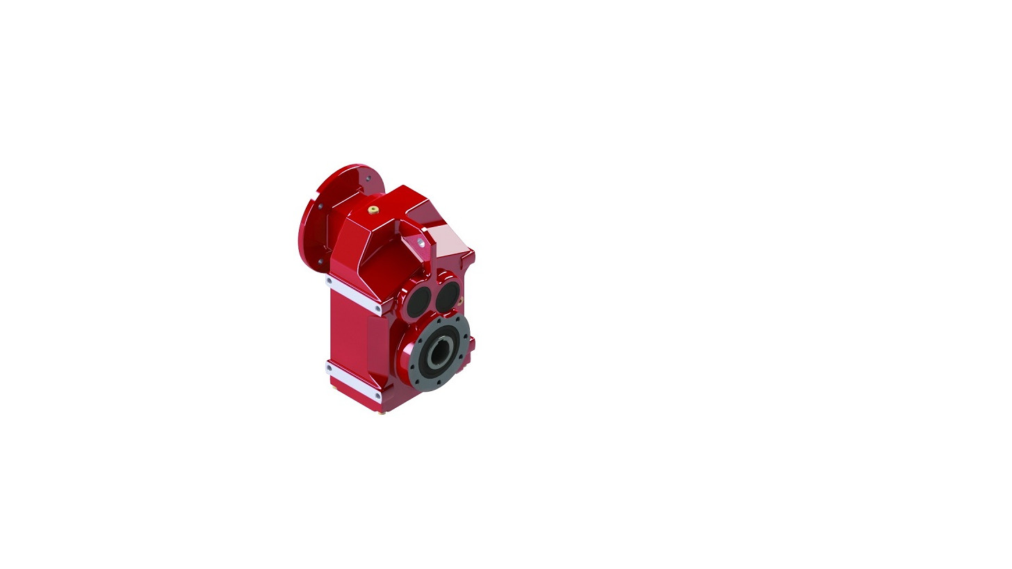 Logo FType Parallel shaft Helical Gear Reduce