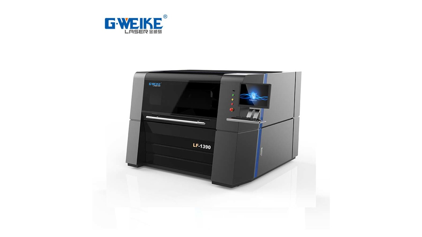 Logo G.WEIKE LASER CUTTING MACHINE