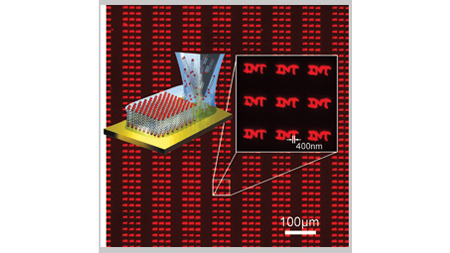 Logo Bio. Tinte für Dip-Pen-Nanolithographie