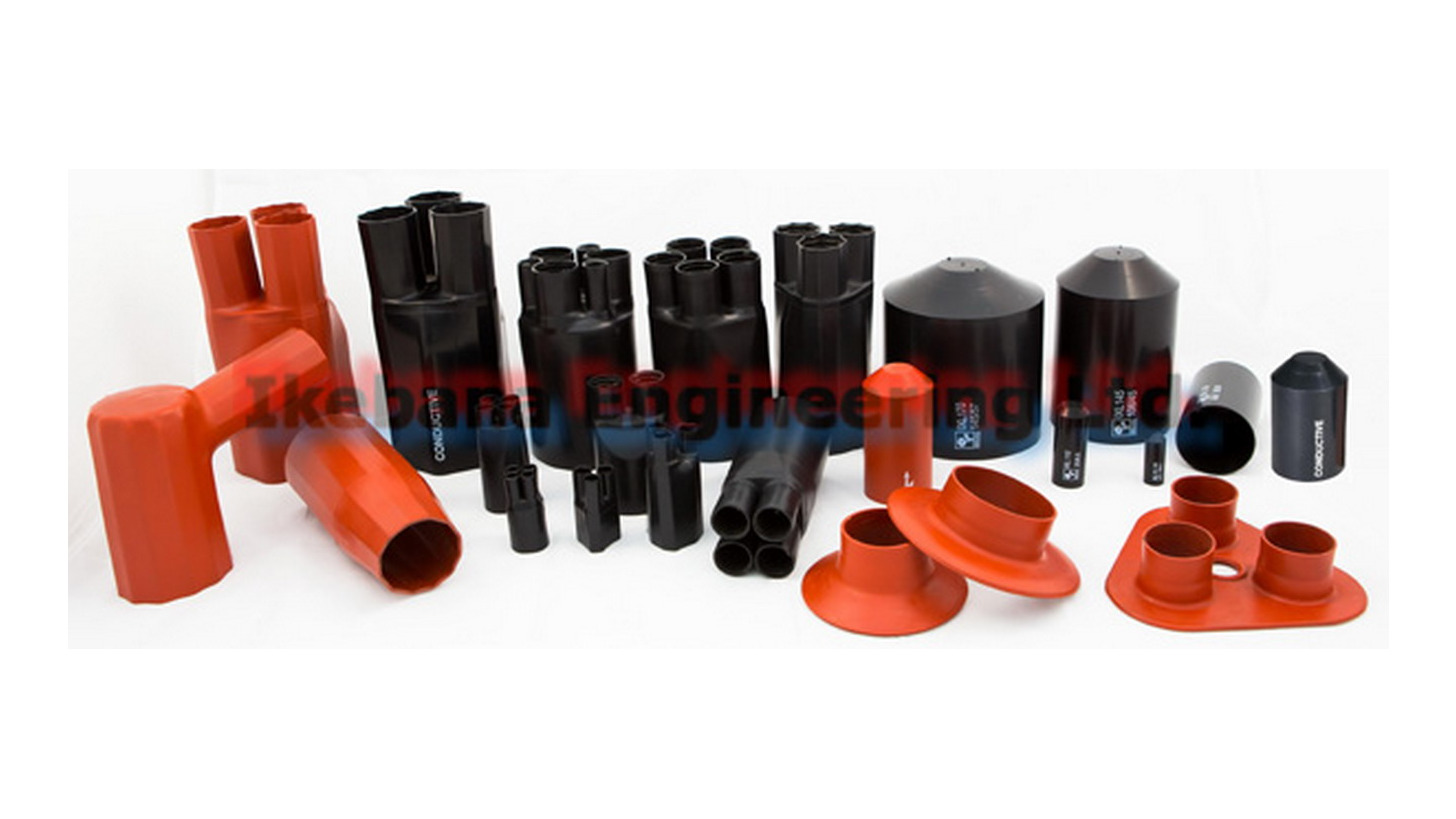 Logo IKEBANA Heat Shrink Molded Shapes