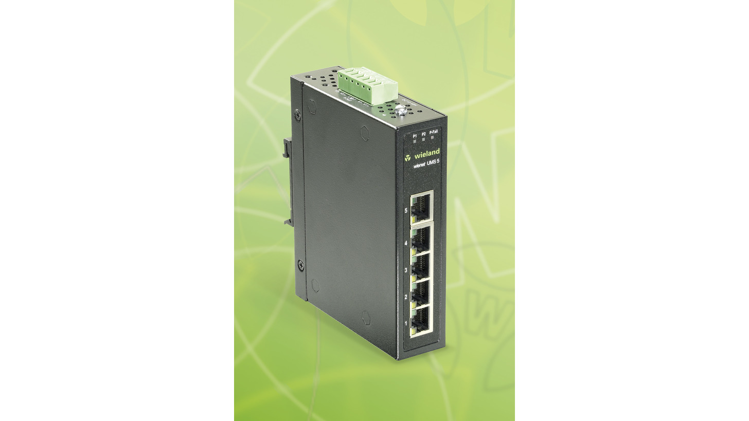 Logo Ethernet Switch wienet UMS 5-W