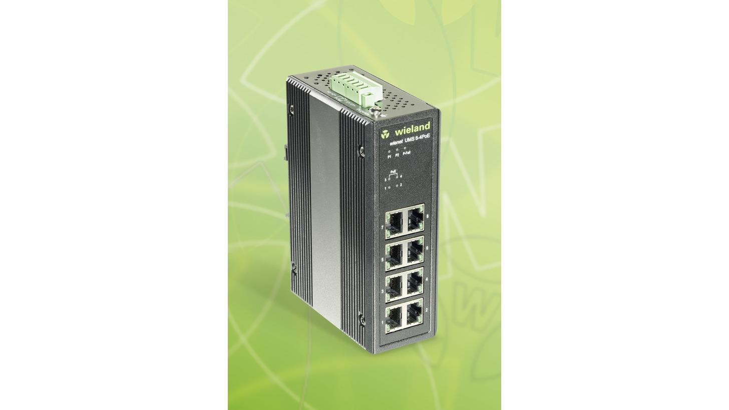 Logo wienet UMS 8-4PoE-W Ethernet Switch