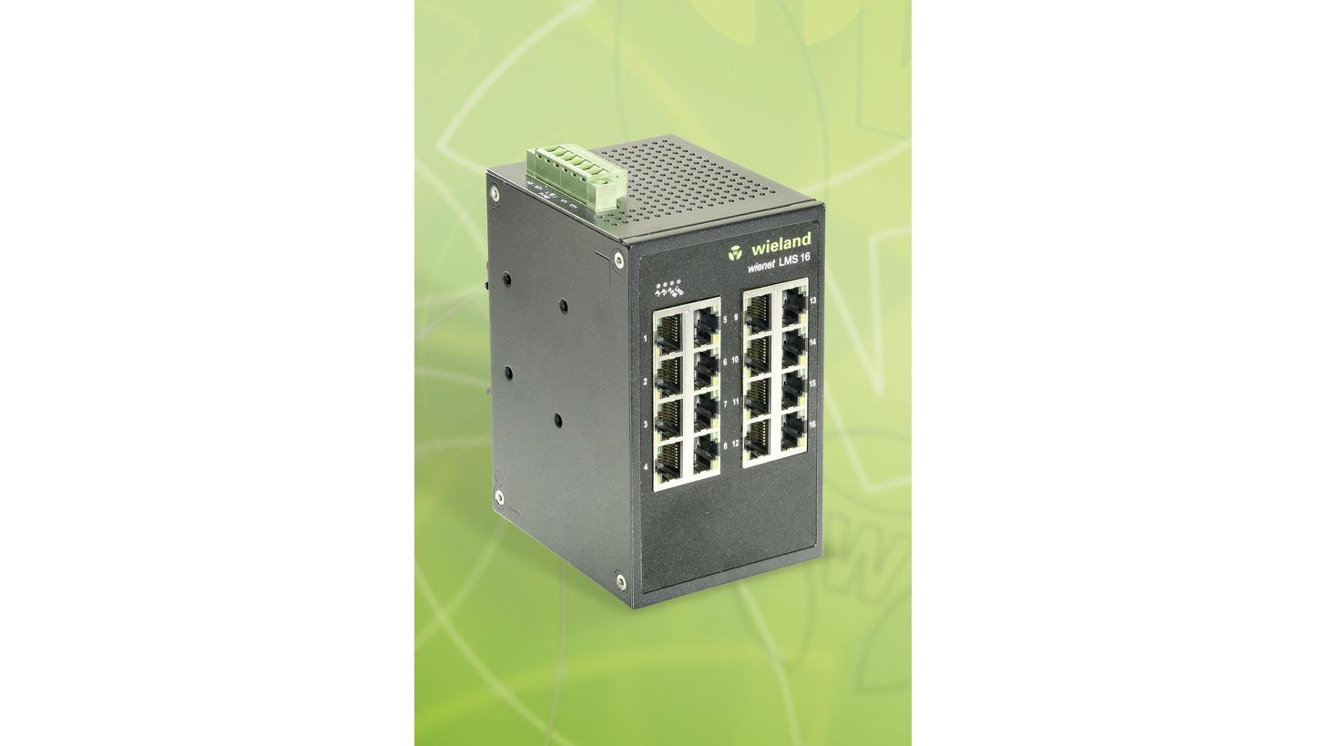 Logo wienet LMS 16-W Light Managed Ethernet