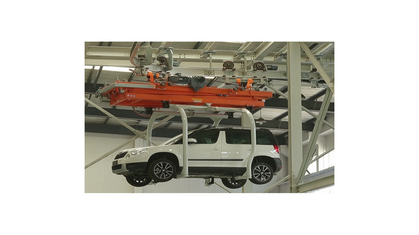 Logo Heavy-duty EMS Convey System in Assembly