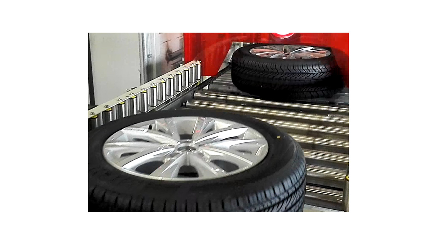 Logo Tire and Seat Conveyor in Assembly shop