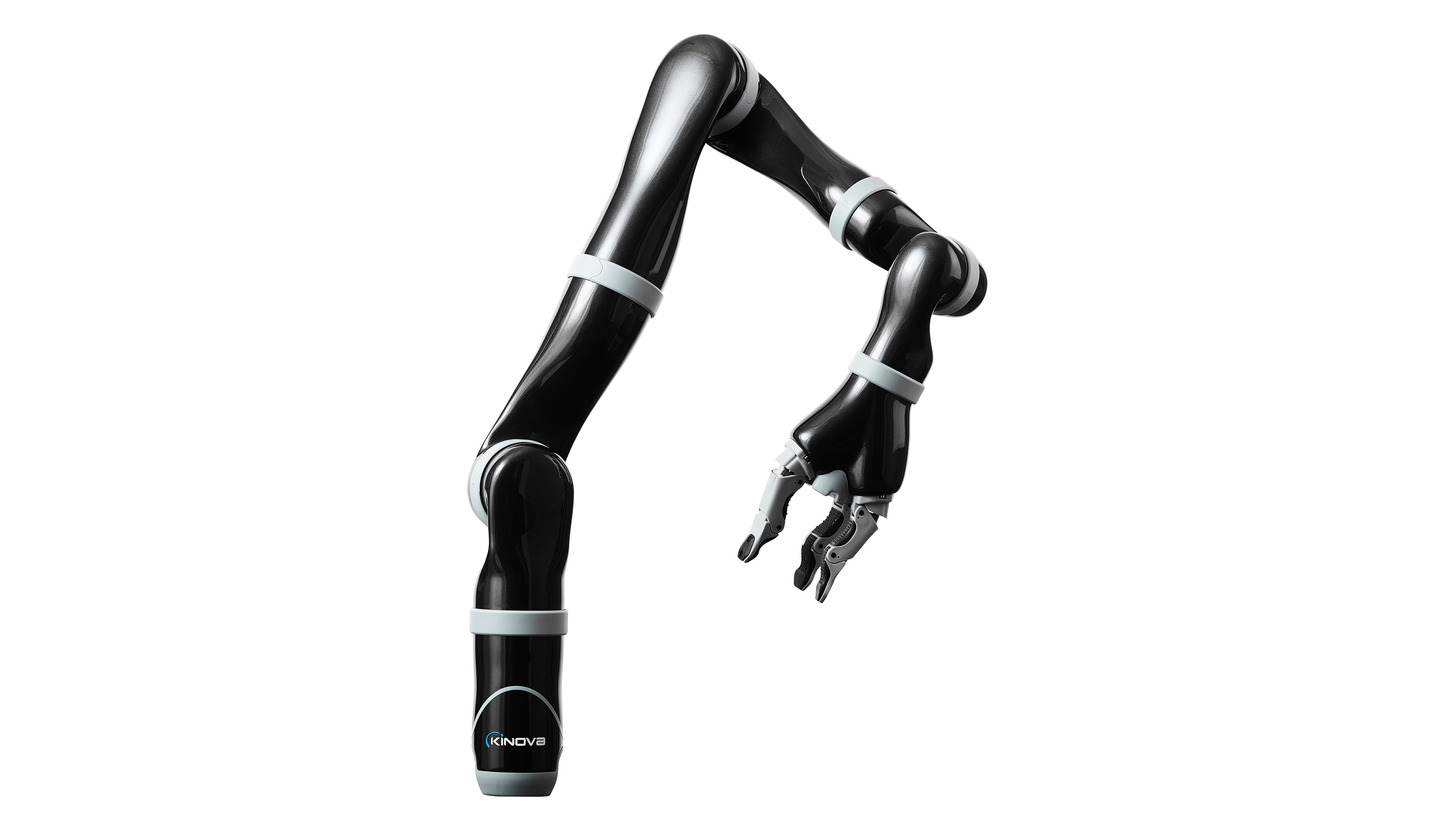 Logo KINOVA(TM) Ultra light weight Robotic arm