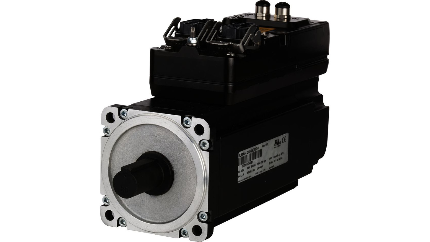Logo Motor-integrated drive system