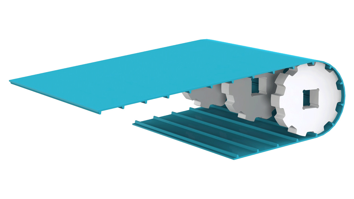 Logo Positive drive conveyor belt DEL/DRIVE50