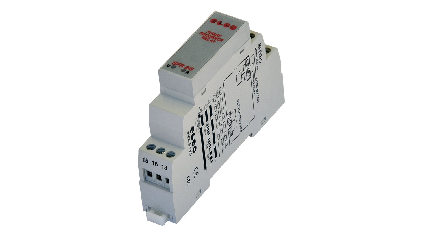 Logo SFR2/5-SEQUENCE AND FAILURE PHASE RELAY