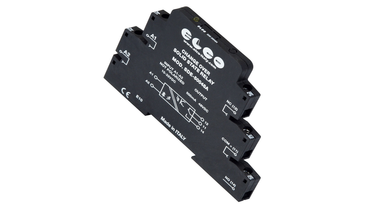 Logo SDE SERIES SOLID STATE RELAYS