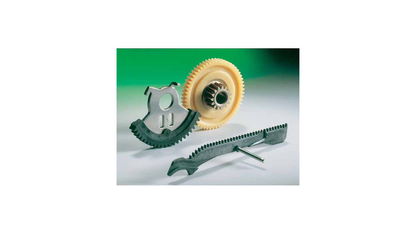 Logo Precision plastic parts with insert-molding