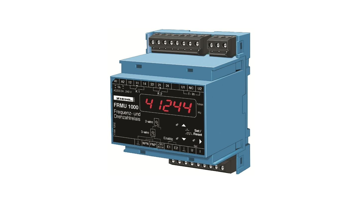 Logo Frequency and Speed Relay FR1000