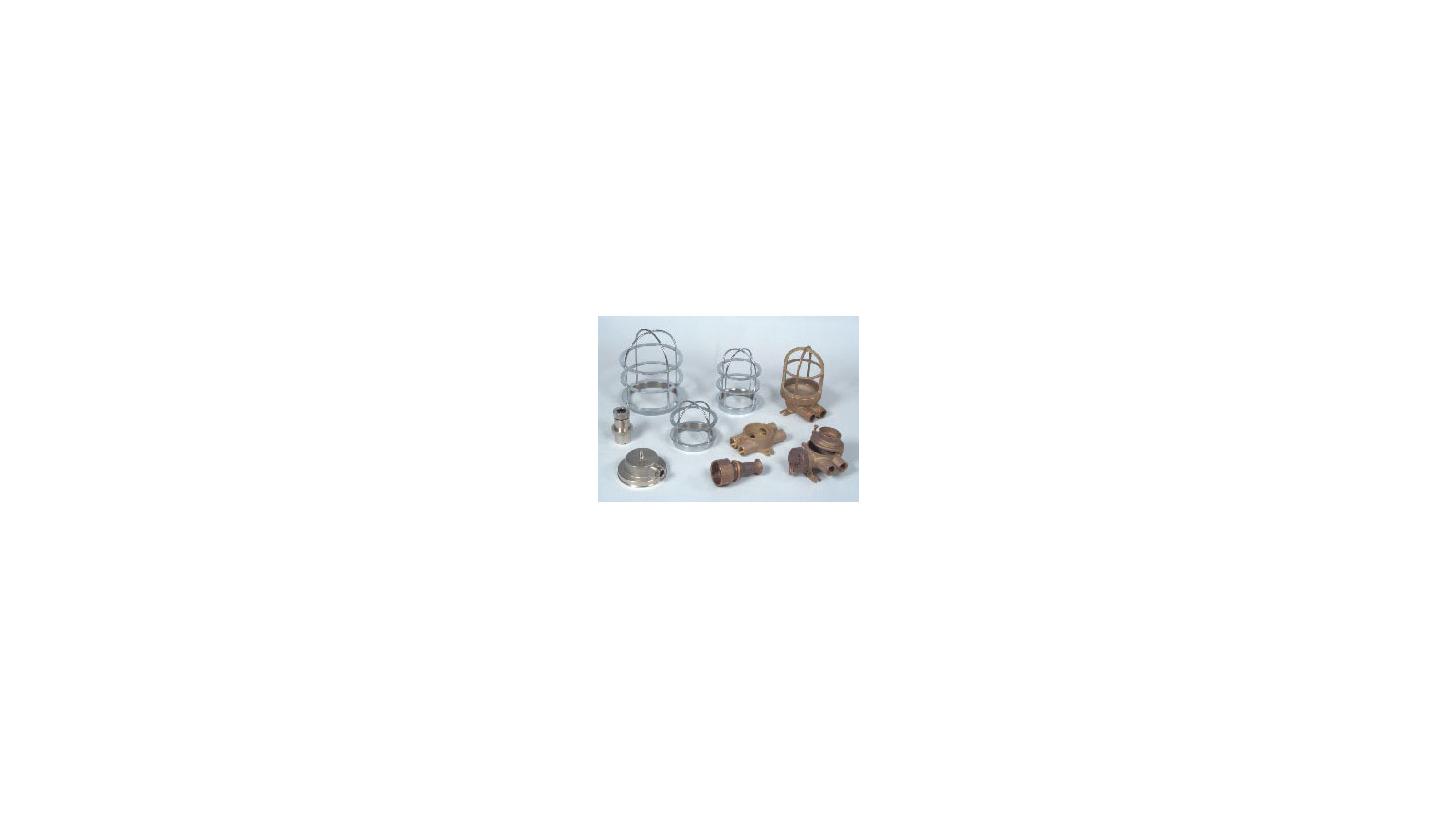 Logo Brass Bulb Guards & Fixtures