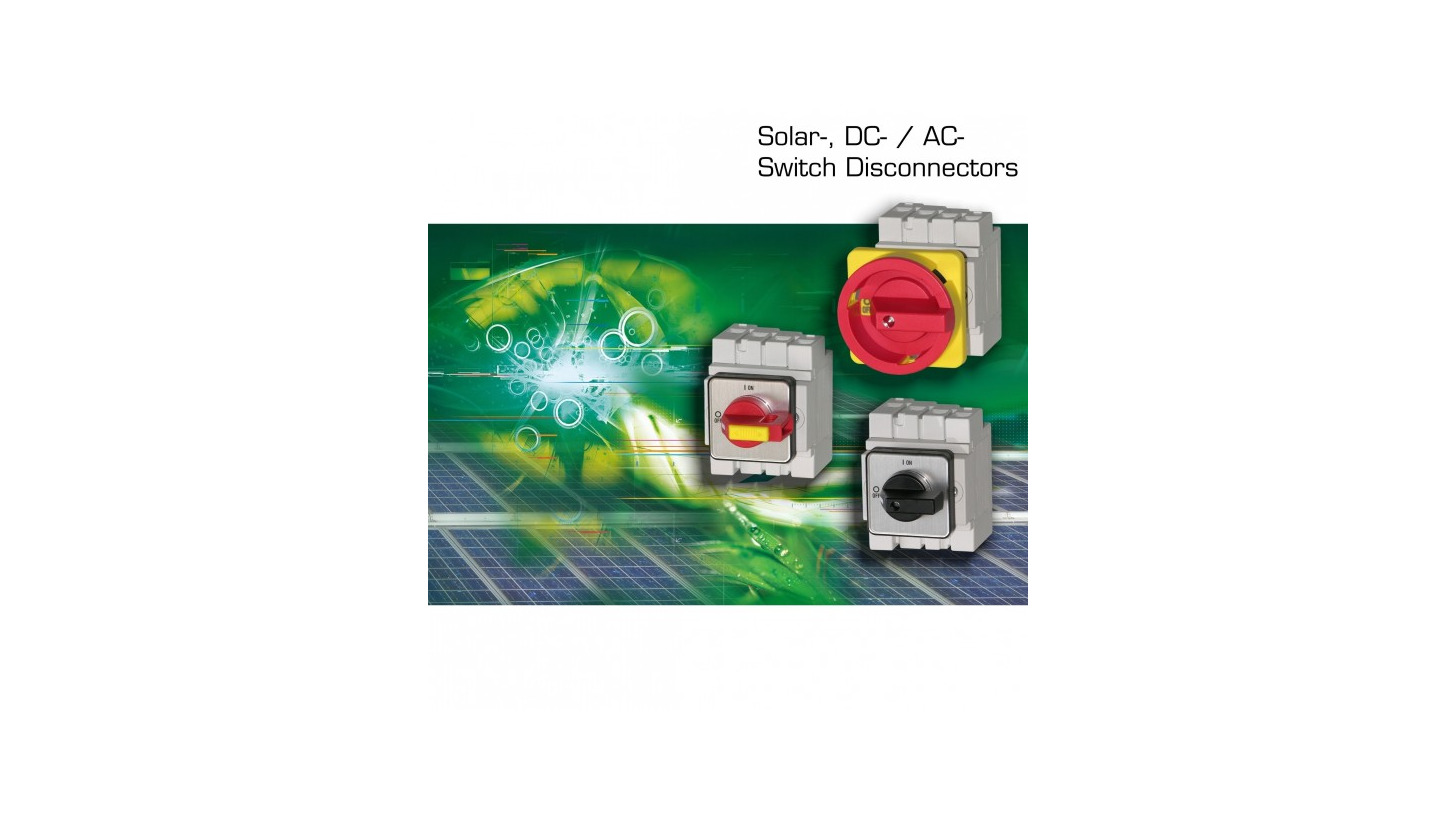 Logo DC-Disconnectors for Solar-Photovoltaik