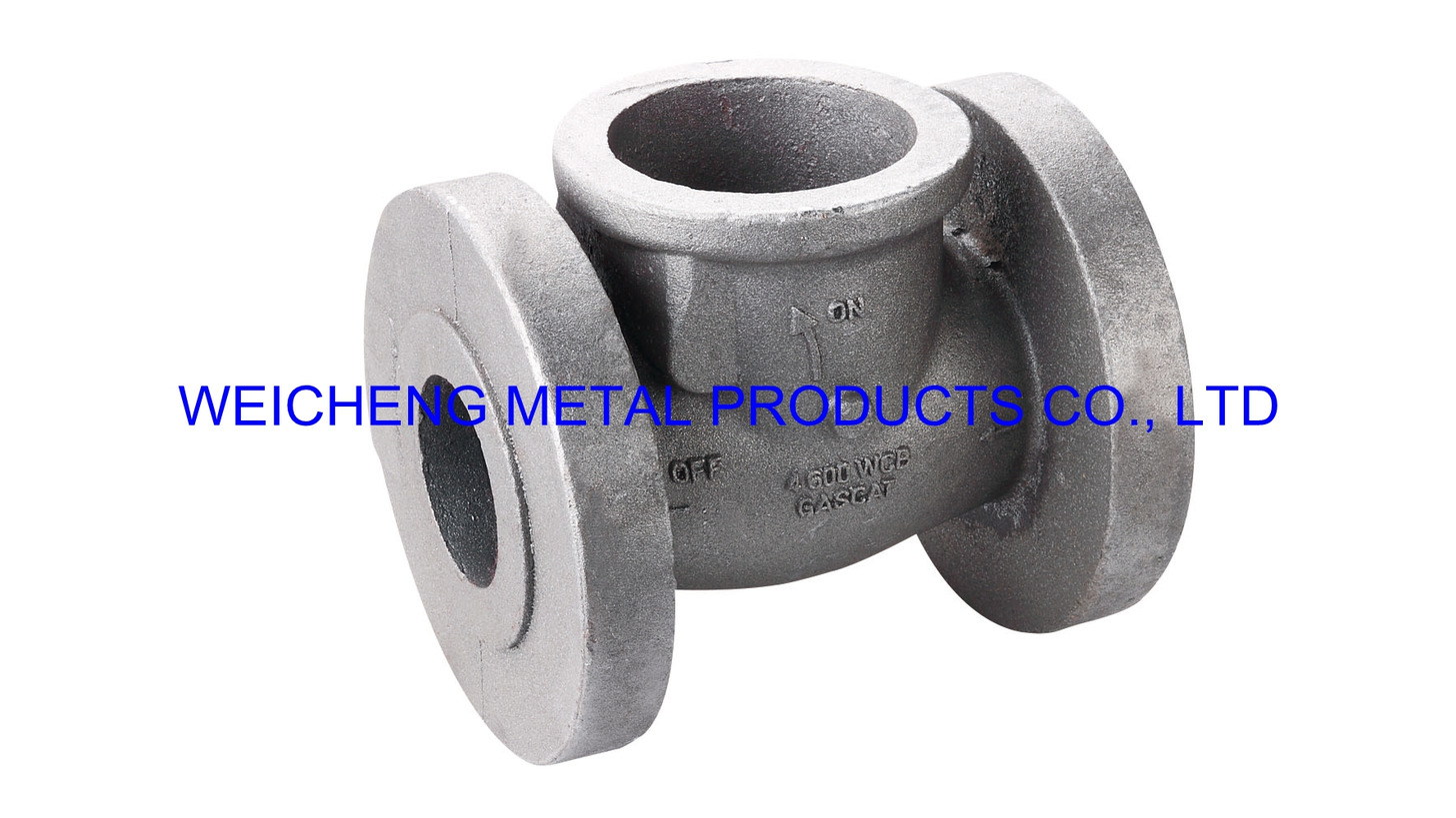 Logo valve - waterglass investment casting