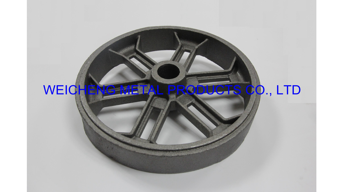 Logo wheel by waterglass investment casting