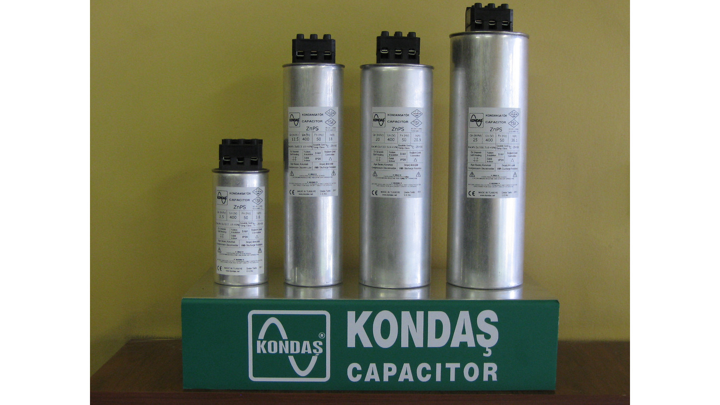 Logo Low Voltage Power Capacitors - ZnPS