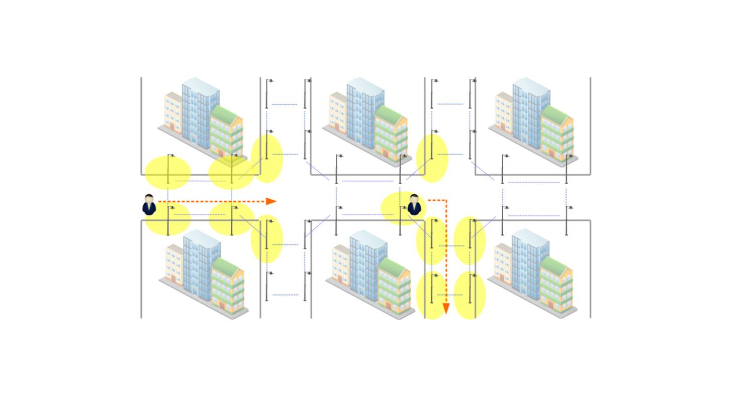 Logo Intelligent Energysaving Street Lighting