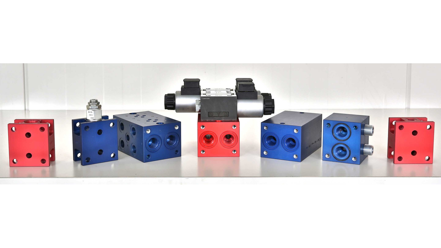 Logo Cetop Manifolds + Legoflex System