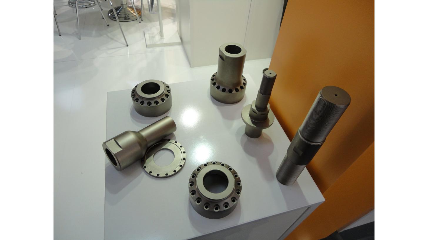 Logo CNC turning parts