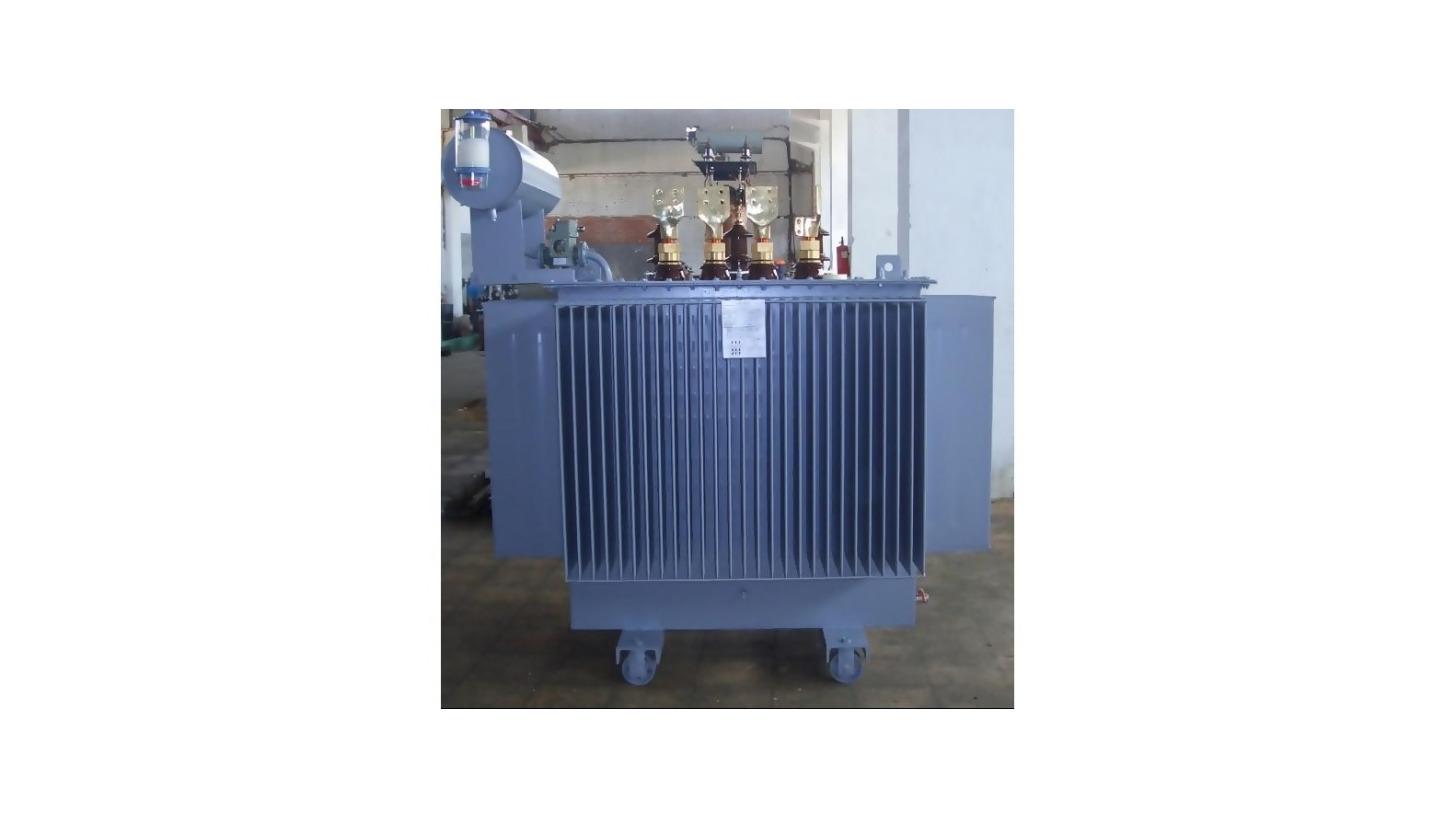 Logo Liquid-insulated power transformers up to 15 MVA, 33 KV.