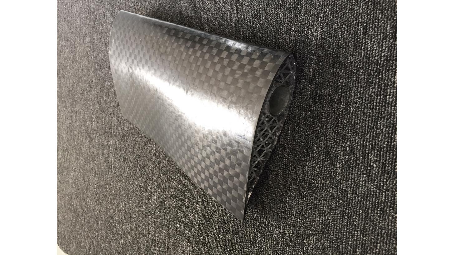 Logo 3D printed composites