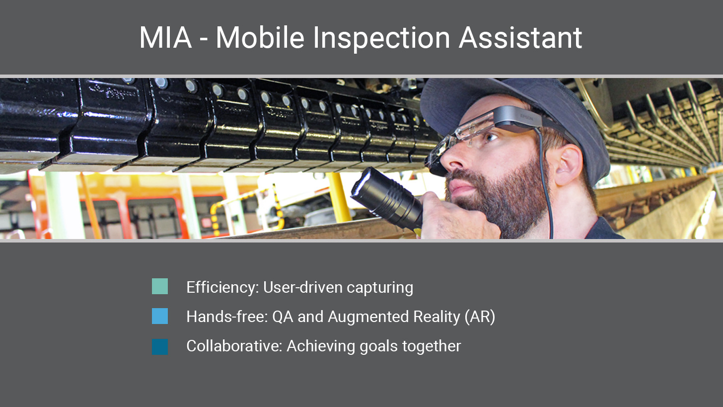 Logo MIA - Mobile Inspection Assistant