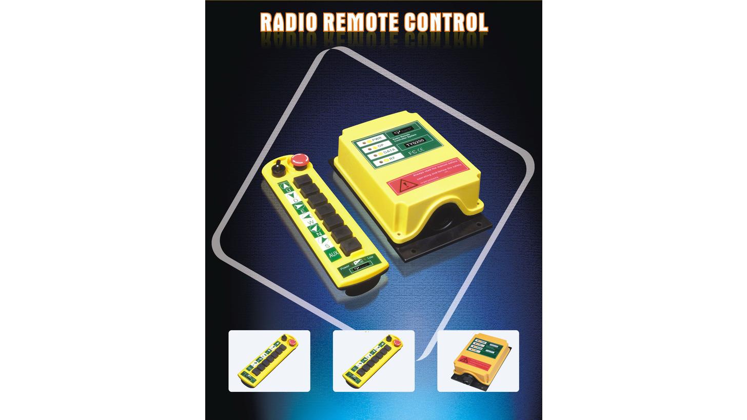 Logo Truck Tail Lift Hand Controller