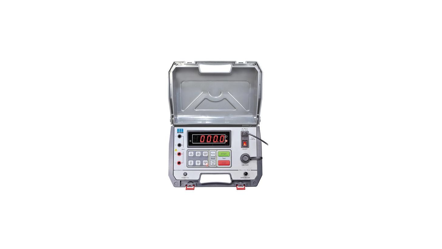 Diagnostic Insulation Tester 5kv Produkt Hannover Messe 2018 Constant Lr2045s