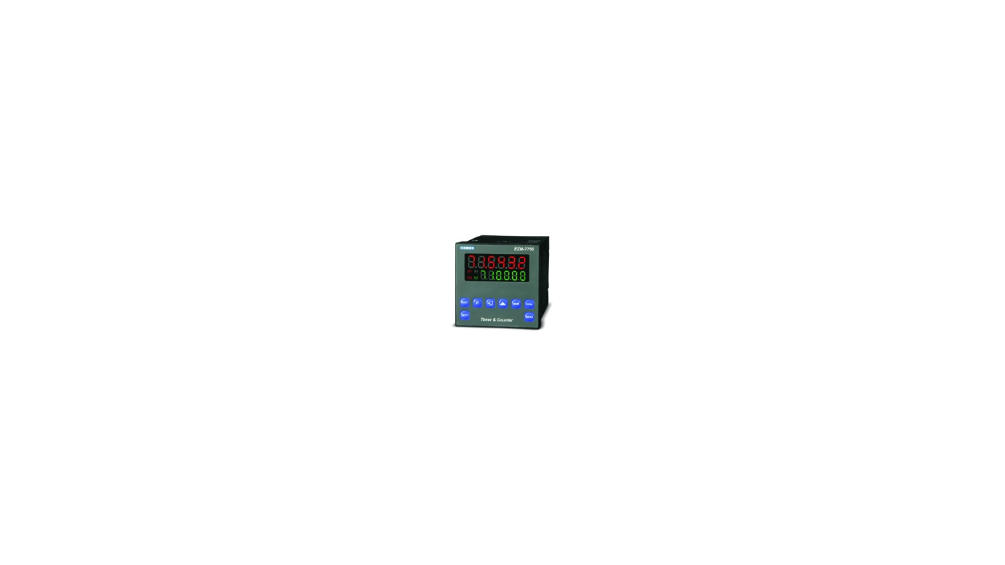 Logo EZM, Batch Counter , Timer, Chronometer, Frequencymeter and Tachometer