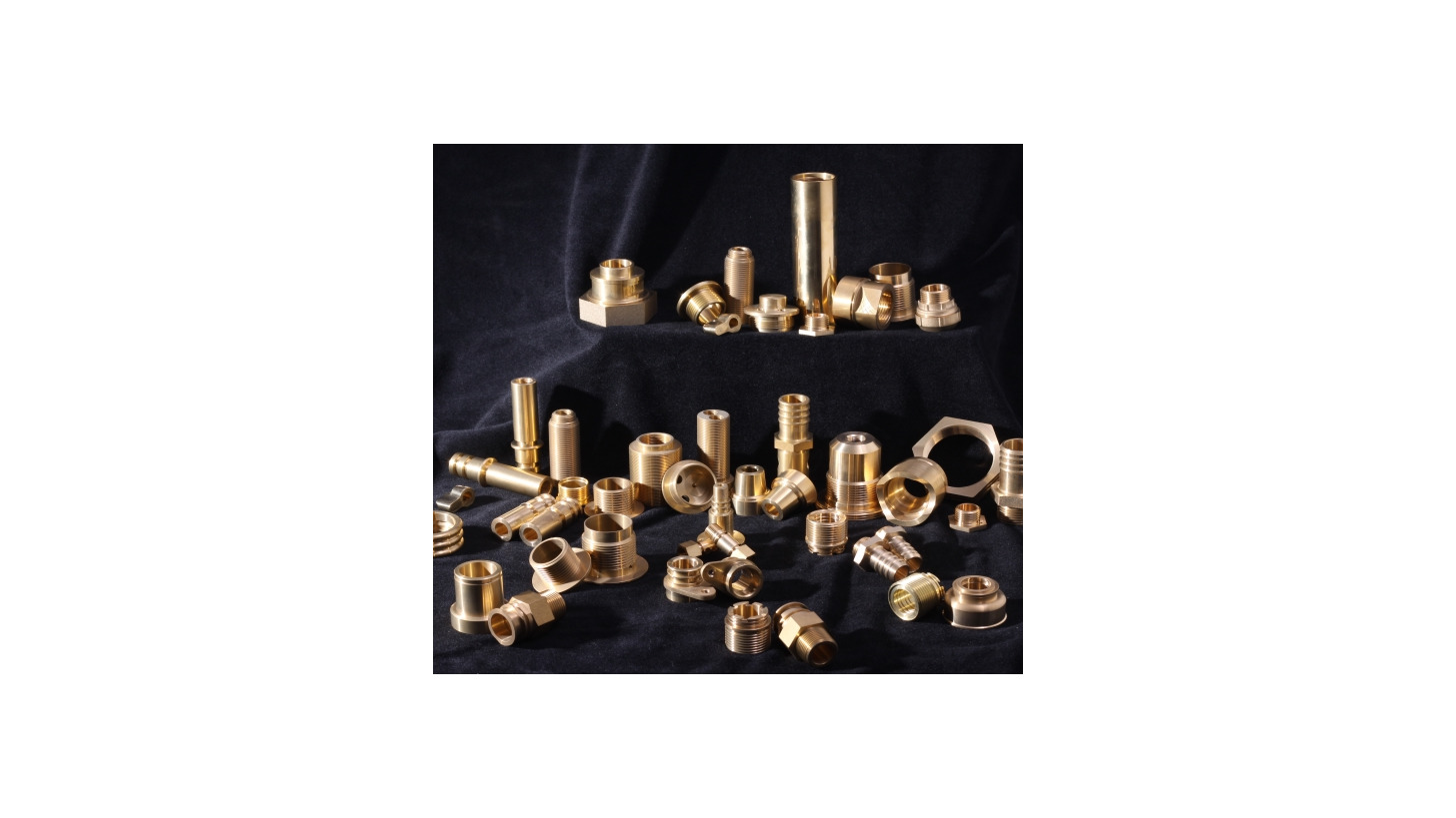 Logo Brass forging and machining