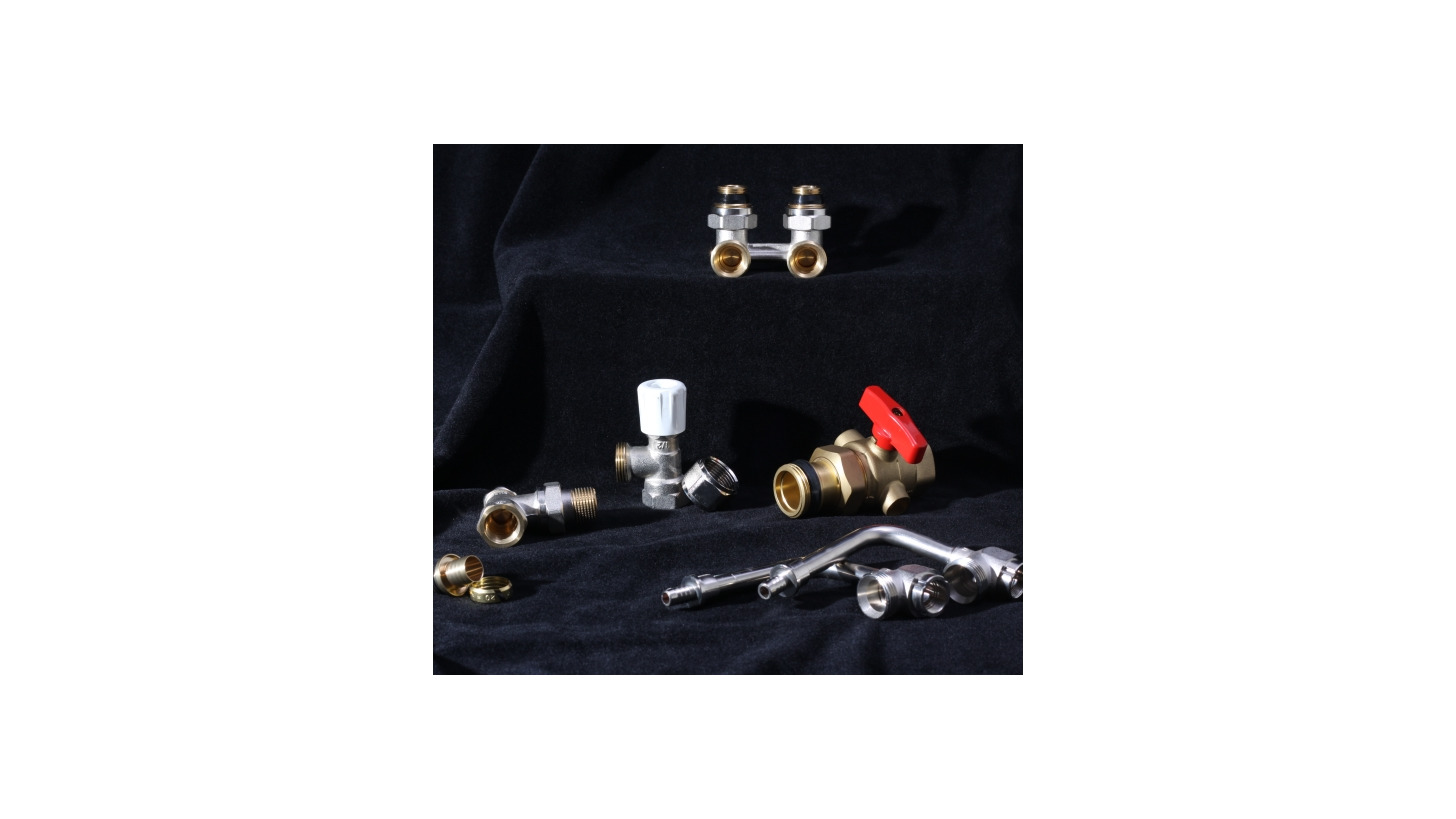 Logo Manifold and valves for HVAC