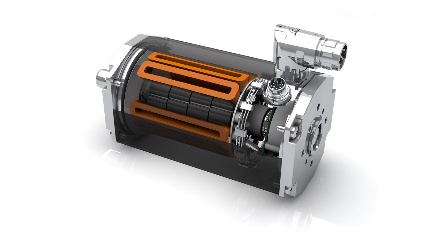 Logo Brushless DC motors - Series BG