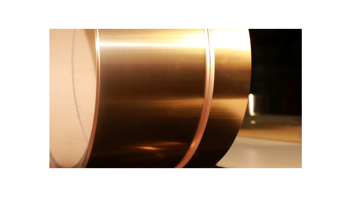 Logo Copper Nickel Silicon Strip