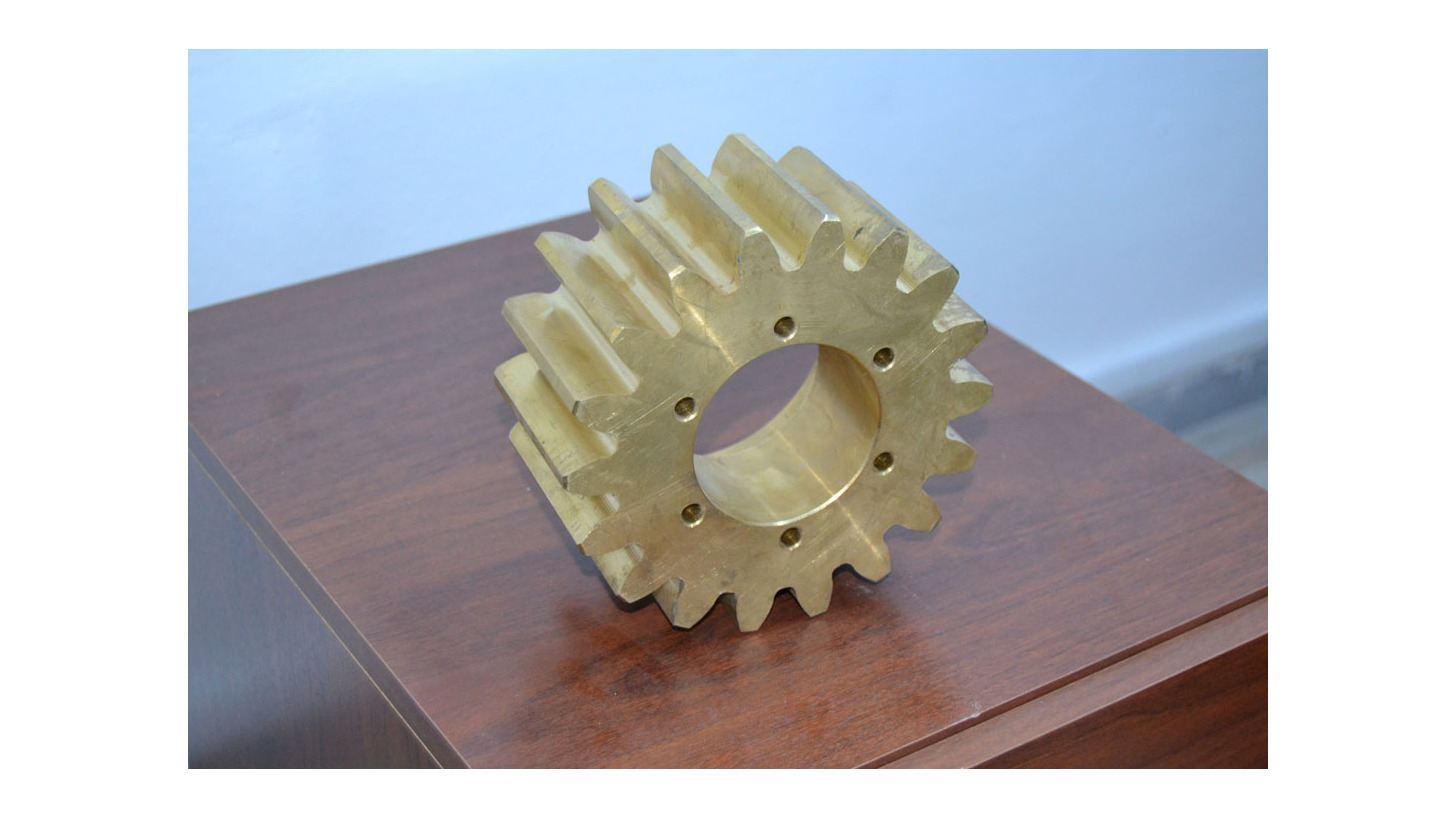 Logo Bronze Casting Machine Parts