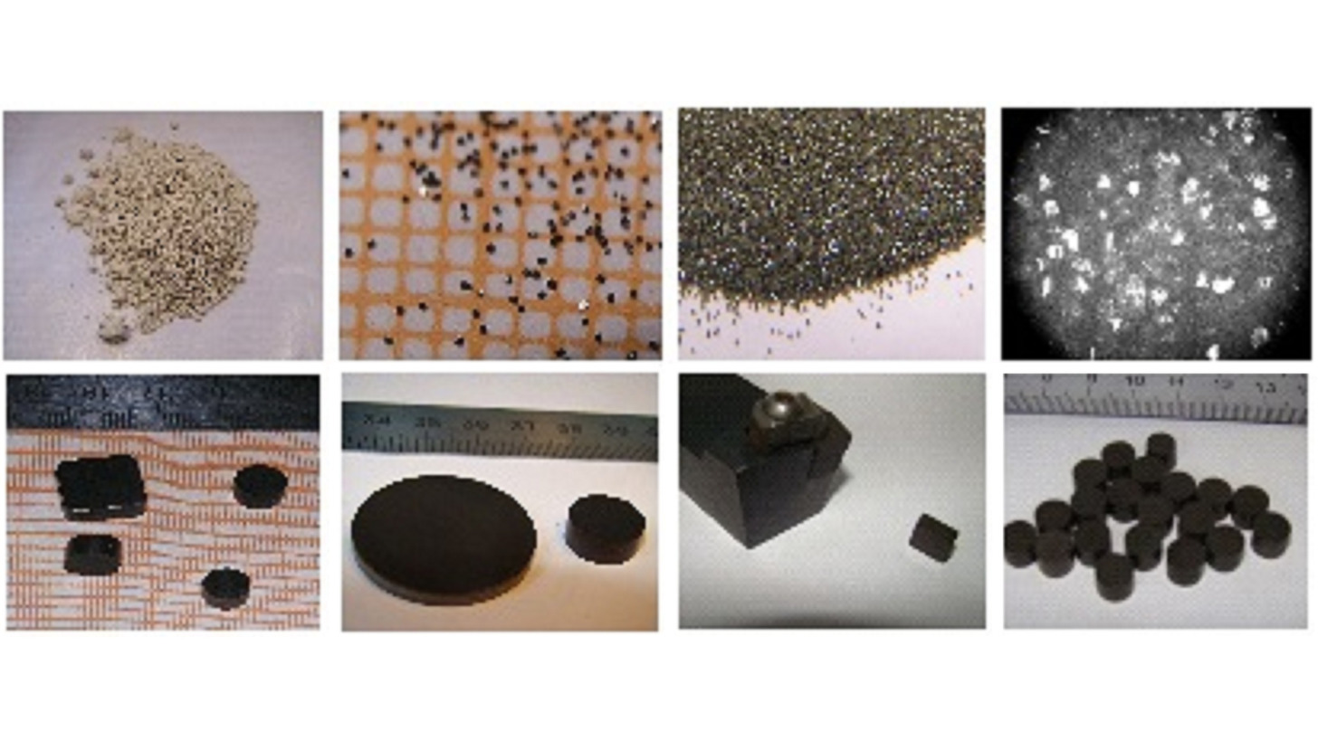 Logo Powder of diamond & cubic boron nitride