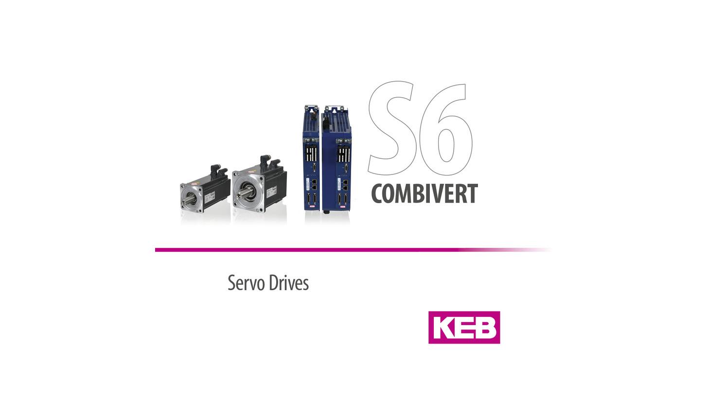 Logo KEB COMBIVERT S6 - Servo System
