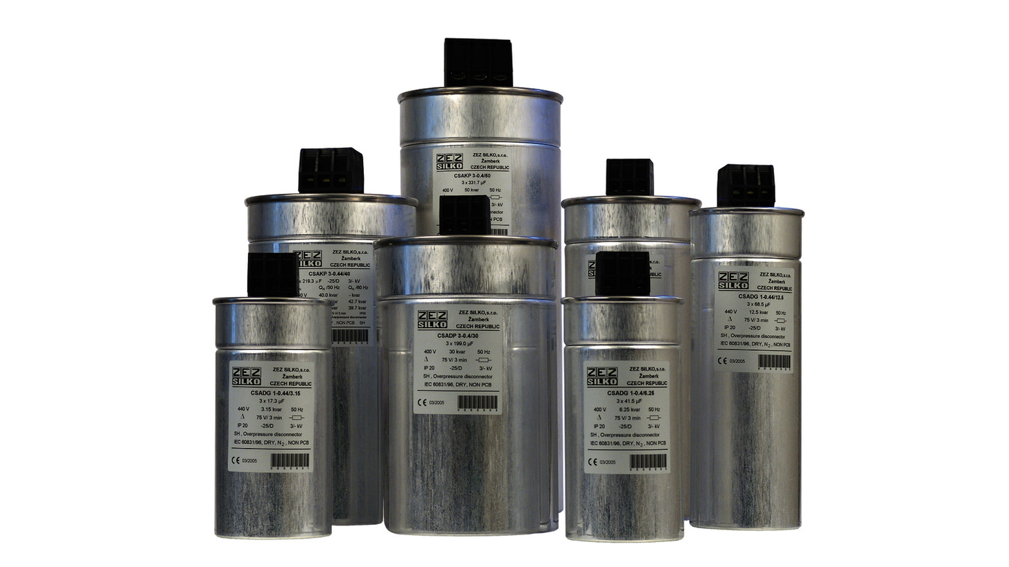 Logo Power capacitors