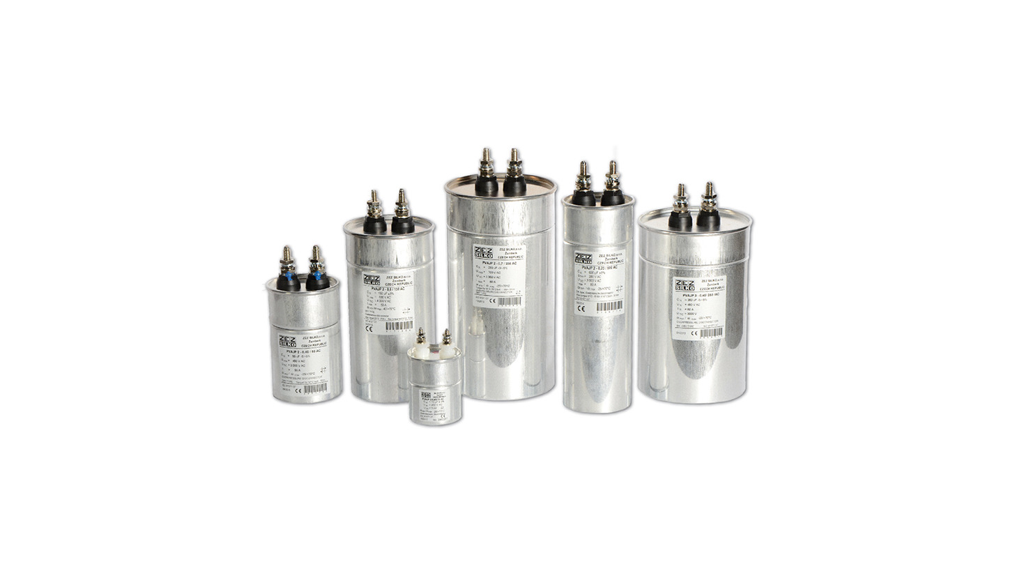 Logo Power electronics capacitors